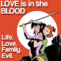 Love is in the Blood - comic