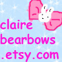Claire Bear Bows